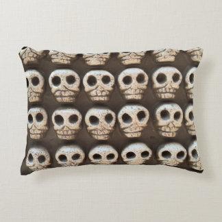Clay Skulls Decorative Pillow