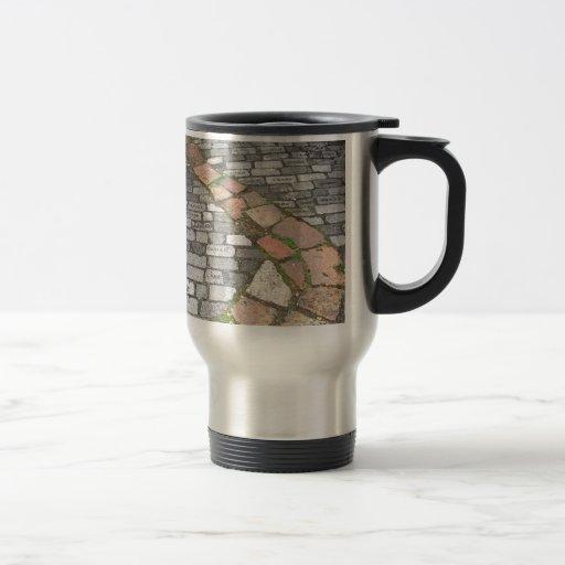 Clay Stone Path Travel Mug