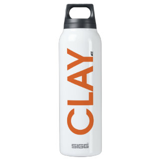 Clay Tennis Court Insulated Water Bottle