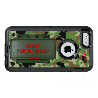 CLAYMOORE MINE (Front Toward Enemy) OtterBox Defender iPhone Case