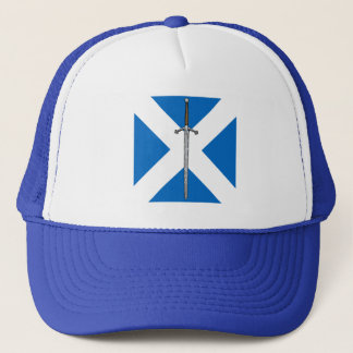 Claymore and Saltire Trucker Hat