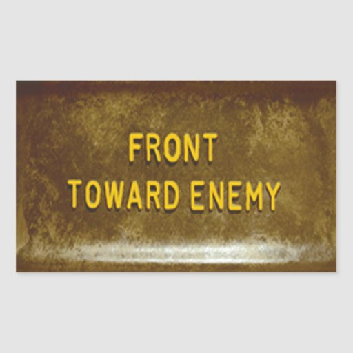 Claymore Mine Phone Cover Mk I Front Toward Enemy Stickers