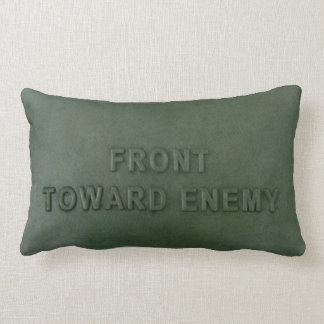 Claymore mine pillow