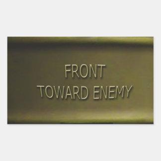 Claymore Mine Sticker Mk II Front Toward Enemy