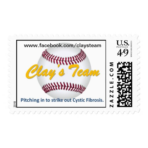 Clay's Team stamp