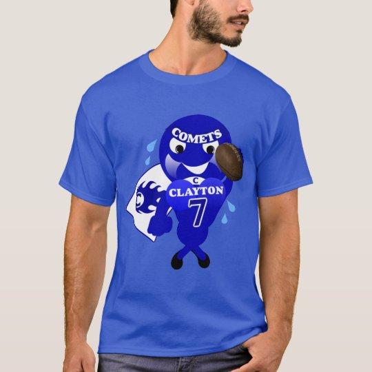 Clayton Comets Football T-Shirt