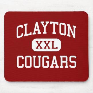 Clayton - Cougars - Middle - Salt Lake City Utah Mouse Pads