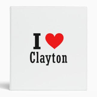 """Clayton, diseño de la ciudad de Alabama Carpeta 1"""""""