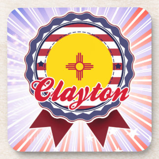 Clayton, nanómetro posavasos de bebida