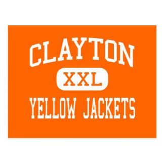 Clayton - Yellow Jackets - Junior - Clayton Post Card