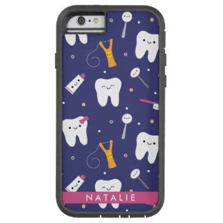 Clayvision Teeth & Friends Iphone 6, Tough Xtreme Tough Xtreme iPhone 6 Case