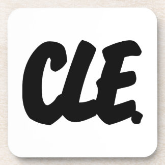 CLE Brushed W Drink Coaster