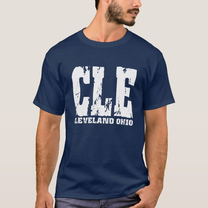 cle cleveland ohio tshirt mens womens styles zazzle