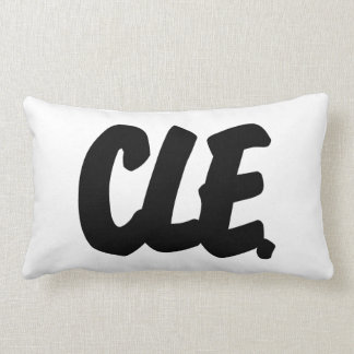 CLE Letters Throw Pillow