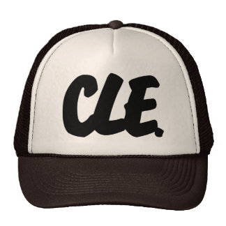 CLE Letters Trucker Hat