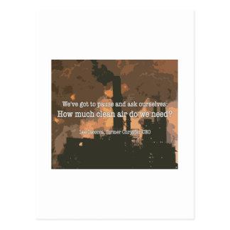 Clean Air Post Card