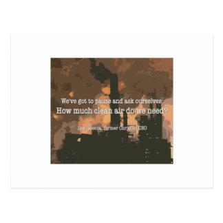 Clean Air Postcards
