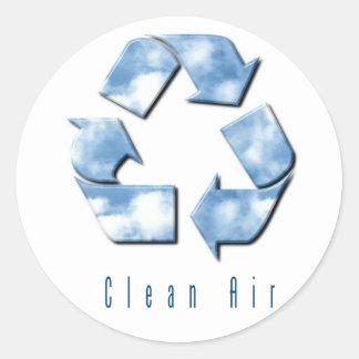 Clean Air Sticker
