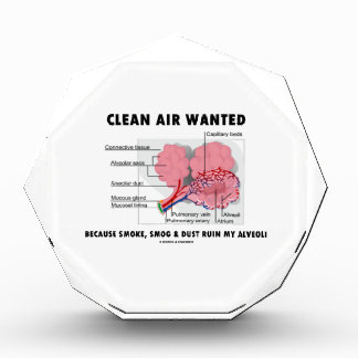 Clean Air Wanted Because Smoke Smog Dust Ruin My Award