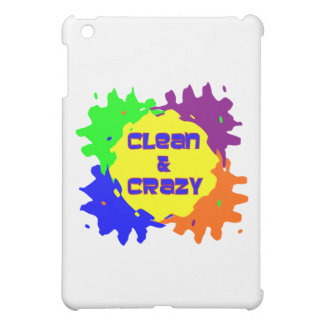 Clean and Crazy iPad Mini Case
