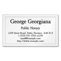 Paralegal business cards templates zazzle clean and restrained public notary business card reheart Choice Image