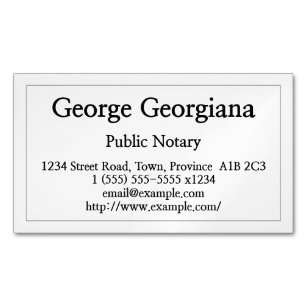 Paralegal business cards templates zazzle clean and restrained public notary business card colourmoves