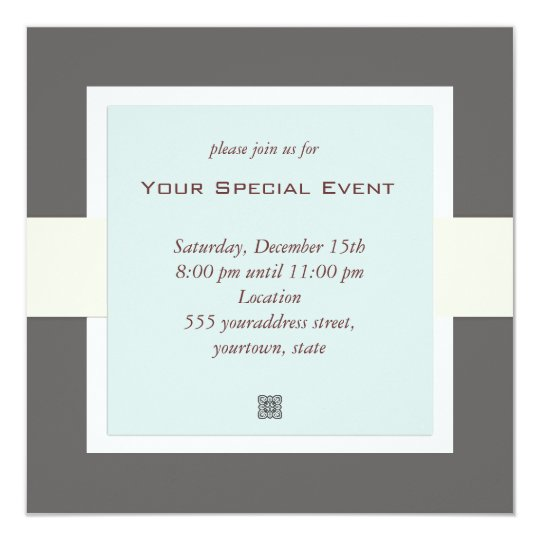 Event Invitations  Announcements  Zazzle