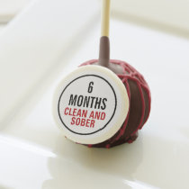 Clean and Sober Milestone Cake Pops