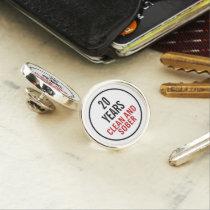 Clean and Sober Milestone Pin