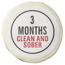 Clean and Sober Milestone Sugar Cookie