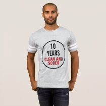 Clean and Sober Milestone T-Shirt