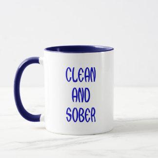CLEAN AND SOBER MUG