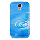 Clean blue water ripples galaxy s4 case