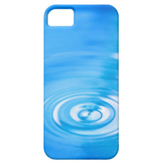 Clean blue water ripples iPhone SE/5/5s case