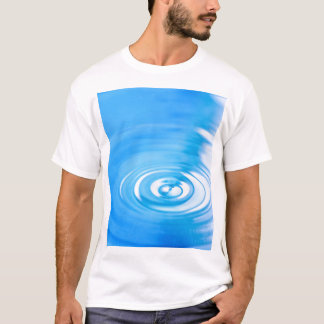 Clean blue water ripples T-Shirt