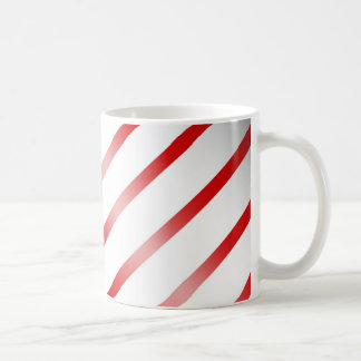 Clean Candy Cane Coffee Mug