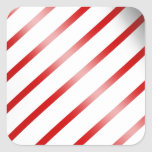 Clean Candy Cane Stickers