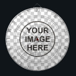 "Clean Dartboard<br><div class=""desc"">Clean dartboard template with custom background image.</div>"