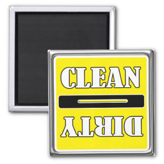 Clean Dirty Dish Washer Magnet
