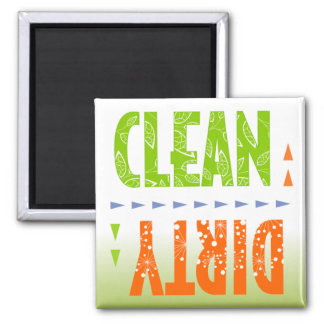 Clean/Dirty Dish Washer Magnet