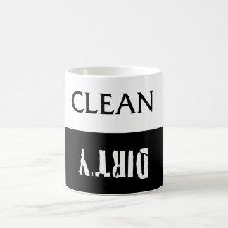 Clean Dirty Dishes Magnet Coffee Mug