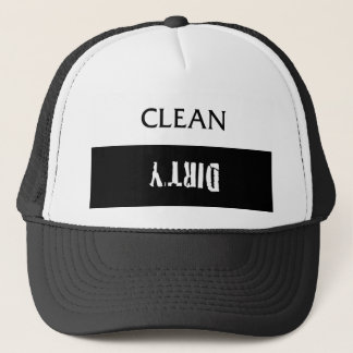 Clean Dirty Dishes Magnet Trucker Hat