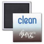 clean/dirty dishwasher/laundry refrigerator magnet
