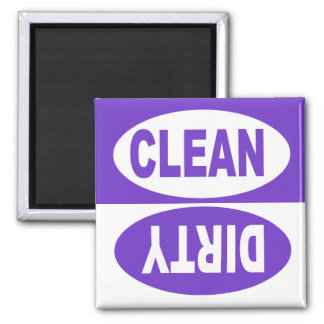 CLEAN & DIRTY DISHWASHER MAGNET
