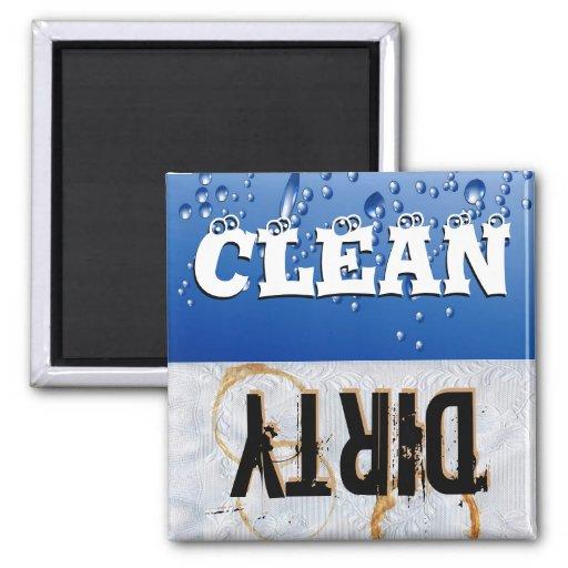 Clean & Dirty Dishwasher Magnet Fridge Magnet