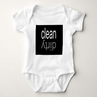 Clean/Dirty Dishwasher Magnet Baby Bodysuit