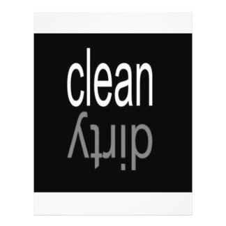 Clean/Dirty Dishwasher Magnet Custom Flyer