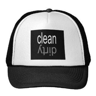 Clean/Dirty Dishwasher Magnet Trucker Hat