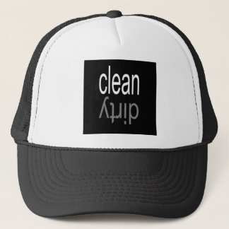 Clean/Dirty Dishwasher Magnet Trucker Hat