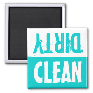 Clean dirty dishwasher magnets    Turquoise
